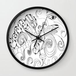 calm as a bomb #14 Wall Clock