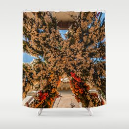 Montisola flower festival on island of Montisola Shower Curtain