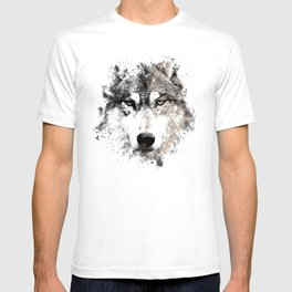 Wolf Face Painting T-shirt