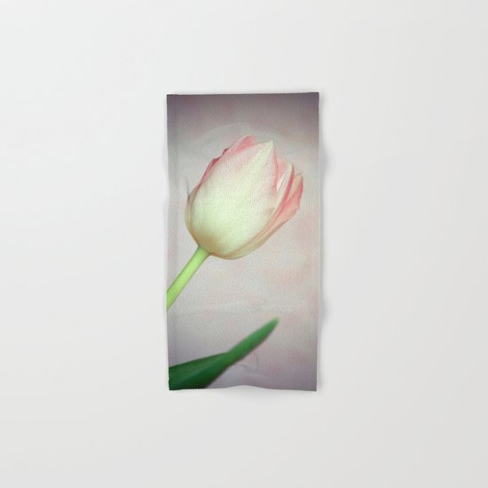 Lovely Tulip Hand & Bath Towel