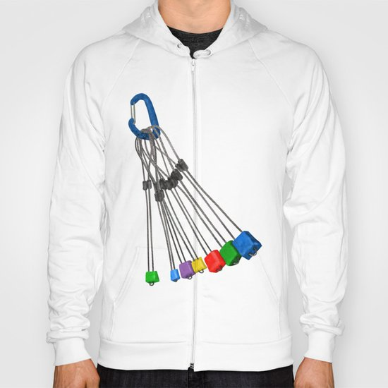 Rock Climbing Wires Hoody