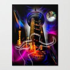 Asia World 20 Canvas Print