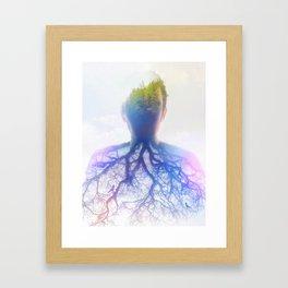 asthma Framed Art Print