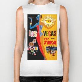 Lady Las Vegas Biker Tank