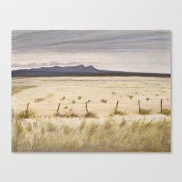 Dry Lake Canvas Print