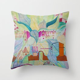 Steinway Throw Pillow