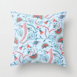 Thebes Garden Throw Pillow