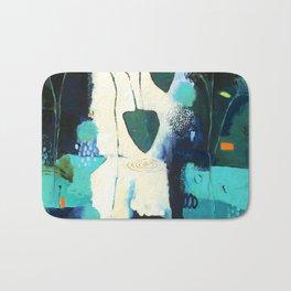 """Deep Sea Forest"" Original Artwork by Flora Bowley Bath Mat"