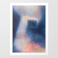 Attached (Alternate colors) Art Print