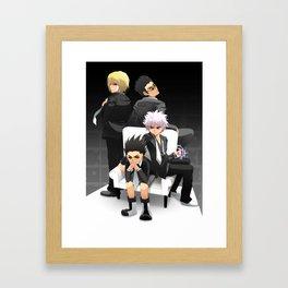 Hunter x Hunter: Mafia Framed Art Print