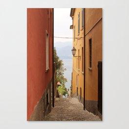 Alley in Varenna Canvas Print