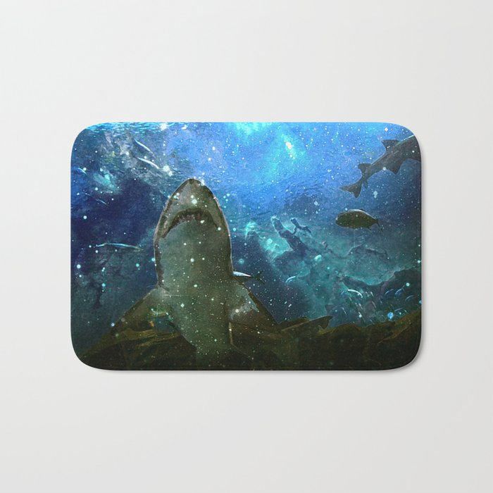 The Great White Marine Lava Lamp Bath Mat
