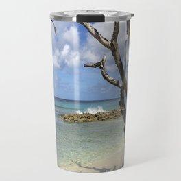 Barbados Beach Travel Mug
