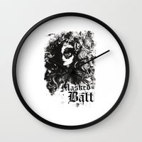 dragon ball Wall Clocks featuring BALL by TOO MANY GRAPHIX