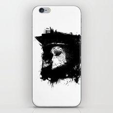 Mask Black/White iPhone & iPod Skin