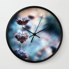 Stages of Beauty Wall Clock