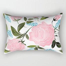 Rosy || Rectangular Pillow