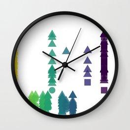 Fork Length Wall Clock