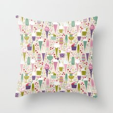 Summer Delights  Throw Pillow