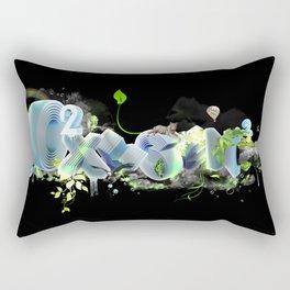 Oxygen CO2 Rectangular Pillow