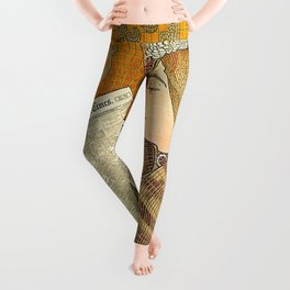 Detail of an Advertisement Leggings