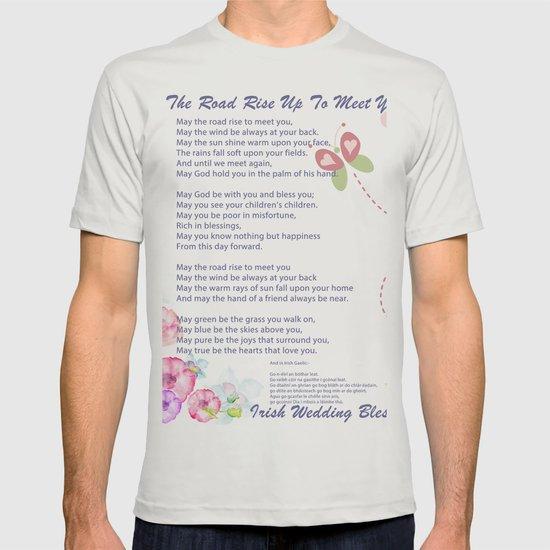The Irish Wedding Blessing T Shirt By Asarstudios Society6