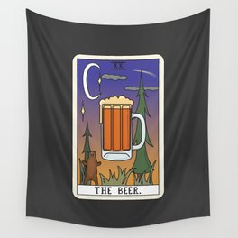 Beer Reading Wall Tapestry