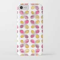 flower pattern iPhone & iPod Cases featuring flower pattern by VessDSign