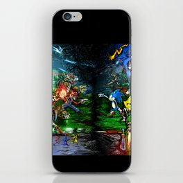 Nintendo Vs Sega iPhone Skin