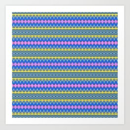 stripes2 Art Print