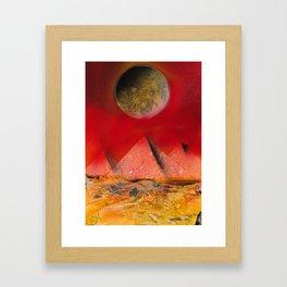Desert Sands Framed Art Print