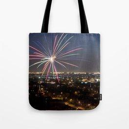 Fireworks. Tote Bag