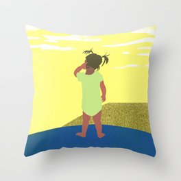 Scratch 긁적임 Throw Pillow