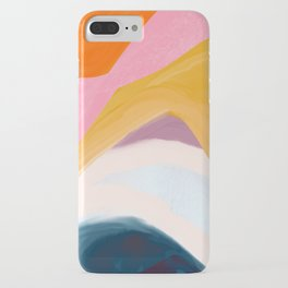 Let Go - no.36 Shapes and Layers iPhone Case