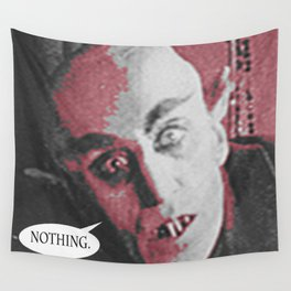 """'Count Orlock, the Vampire #2' from """" Nosferatu vs. Father Pipecock & Sister Funk (2014)"""" Wall Tapestry"""