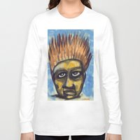 indonesia Long Sleeve T-shirts featuring Surf's Up ~ Indonesia Art by Ali by FiVe