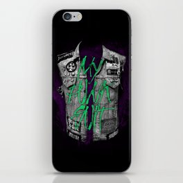 Punk Suit iPhone Skin