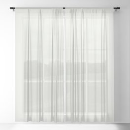 Off-white - Ghost - Powder Solid Color Parable to New Monsoon 7005-21 by Valspar Sheer Curtain