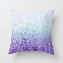 Summer Rain Dreams Throw Pillow