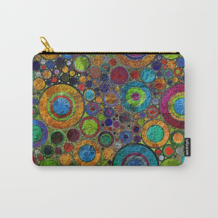 Rings pattern 2 Carry-All Pouch