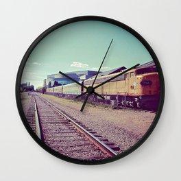 On the Railroad Wall Clock