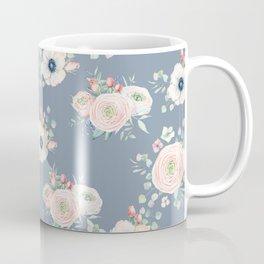 Dog Rose Pattern 3 Coffee Mug