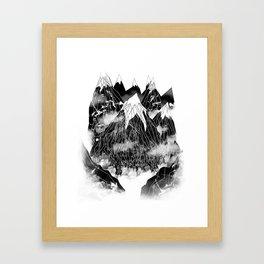 Valley of the Mountain Goat Framed Art Print