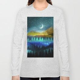 Silent Forest Night Long Sleeve T-shirt