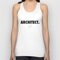 architect Tank Tops featuring Architect by var_studio
