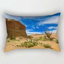 Utah Desert Landscape Rectangular Pillow