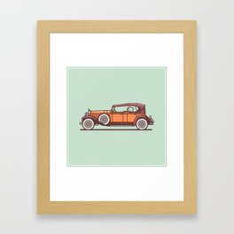 Cadillac Framed Art Print