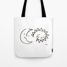 moom and snuh Tote Bag