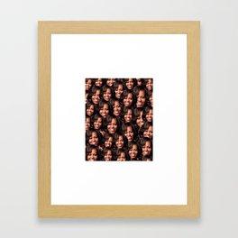 mich Framed Art Print