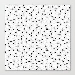 Eyeball Frenzy Canvas Print